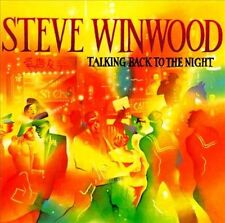 Steve Winwood CD Talking Back to the Night (Island, WB) VG