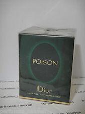 CHRISTIAN DIOR  POISON EDT SPRAY 1.7 oz / 50 ML WOMEN PERFUME Genuine * Sealed *