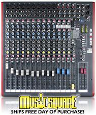 Allen & Heath ZED16FX Live Audio Mixer ZED16 16 ZED 16FX Un-used in orig box!