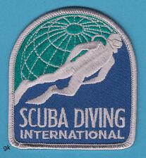 SCUBA DIVING INTERNATIONAL DIVE PATCH