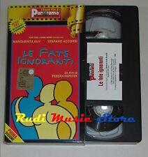 film VHS  LE FATE IGNORANTI S. Accorsi M. Bui   CARTONATA PANORAMA (FP1)  no*dvd