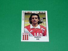 PANINI FOOTBALL FOOT 90 N°169 MARCEL DIB ASM AS MONACO LOUIS II 1989-1990