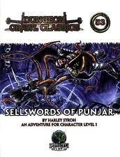 Sellswords Of Punjar Nm! Dungeon Crawl Classics #53 Module Dungeons Dragons D&D