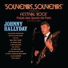 CD Johnny Hallyday Souvenirs, souvenirs au festival rock Palais des Sports 1961