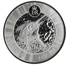 1973 MINI BAR MINT STERLING .925 SILVER ART ~ THE MARLIN FISHERMAN ~ 10 GRAMS