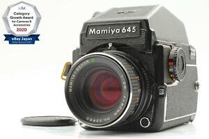 【NEAR MINT】 Mamiya M645 1000s PD Finder + Sekor C 80mm f/2.8 From Japan 1550