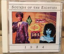 SOUNDS OF THE EIGHTIES 1984 TIME LIFE CD OOP 80s The Cars,Hall & Oates,Thompson