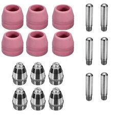 For CUT50F/60 LGK-60 Plasma Cutter 18Pcs AG60 SG55 Consumables Pilot Arc Torch