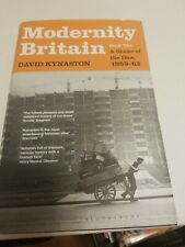 Modernity Britain book 2 of the dice 1959-62 david kynaston
