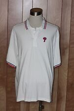 MEN'S PHILADELPHIA PHILLIES SHORT SLEEVE POLO SHIRT-SIZE: XL