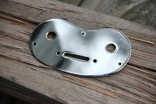 1950s VINTAGE ORIGINAL MAGNATONE BIGSBY MARK III DELUXE CHROME CONTROL PLATE NOS