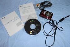 Nikon Coolpix L20 10MP Digital Camera - Red