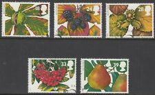 GB Stamps 1993, Four Seasons, Autumn, set of 5 VFUsed from FDC, SG 1779-1783