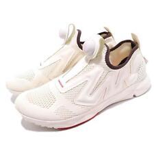 Reebok Pump Supreme Style ENG White Bare Beige Men Running Slip On Shoes CN4585