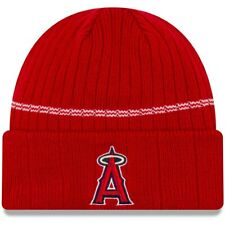 New Era MLB Los Angeles Angels Cuff Sport Knit Beanie Fleece Lined Winter Hat