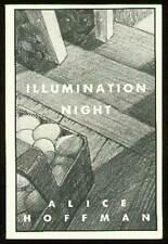 Alice HOFFMAN / Illumination Night Uncorrected Proof 1st 1987
