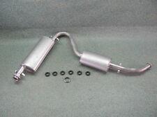 Auspuff hinten Peugeot Boxer Kasten 2.0 , 1.9 D & 2.5 D Endtopf Endschalldämpfer