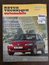 Revue Technique Automobile Peugeot 306 essence 8 et 16 soupapes