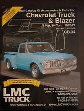 1967 - 1972 Chevrolet Truck Blazer Parts Accessories LMC Catalog 2003 Fall (ZZ)