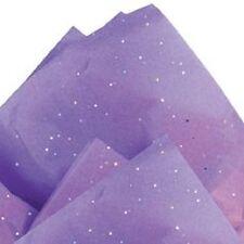 "Lavender Glitter Sparkles -Tissue Paper # 251 .... 10 Large sheets - 20"" x 30"""