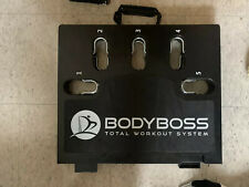 BodyBoss Home Gym 2.0 - Full Portable Gym Home Workout Package (White)