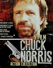 [New] 5 Film Chuck Norris Action Collection (2017, Dvd)