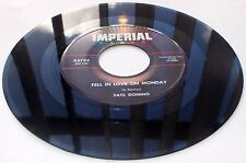 Fats Domino Shu Rah b/w Fell In Love On Monday 1961 Imperial 5374 45 rpm VG++