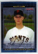 2002 Bowman Chrome Draft Matt Cain RC Rookie #BDP25 San Francisco Giants