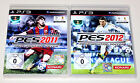 2 PLAYSTATION 3 SPIELE SET - PRO EVOLUTION SOCCER 2011 & 2012 - FUSSBALL PES PS3