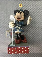 """DISNEY TRADITIONS COLLECTION  MINNIE MOUSE """" SWEET HARMONY """" FIGURINE"""