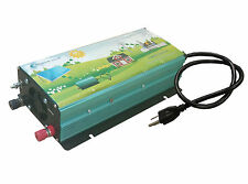 1000w grid tie power inverter dc 40-60v to ac 110v for solar panel+LCD, MPPT