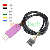 5V 6Pin PL2303HXD USB to RS232 TTL Cable Module for Android win XP VISTA 7 8