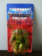 MOTU Kobra Khan Evil master of snakes, MOC Sealed 1983 *Rare*