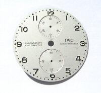 IWC Portugieser Chrono Silver Zifferblatt IW 371445 gebraucht I003