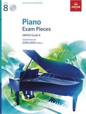 PIANO EXAM 2019-2020 Grade 8 + CD ABRSM*