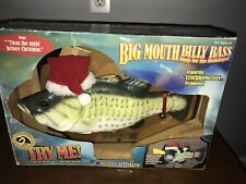 Big Mouth Billy Bass Sings for the Holidays Gemmy Industries Read Description