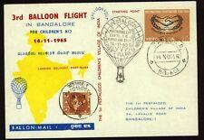 Indien Kinder Ballonfahrt Sonderkarte