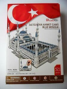 3D Puzzle Sultan Ahmet Moschee Cubic Fun Blaue Moschee Blue Mosque Istanbul groß