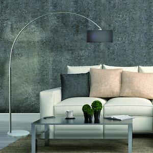 1 Piece Industrial Style Arc Floor Lamp Decoration Metal Bedroom Single Arm