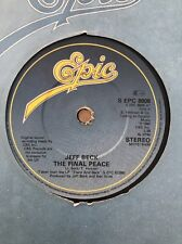 JEFF BECK – THE FINAL PEACE (1980 UK SINGLE) EX COND EPIC
