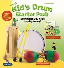 Alfred's Kid's Drum Course Starter Pack Box Set w/ Book, Cd & Misc. Percussion