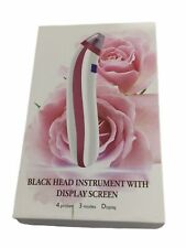 Electric Black Head Remover with Display Screen Brand New