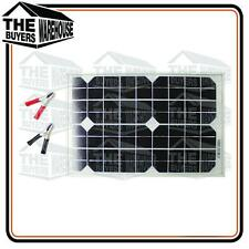 10 WATT SOLAR PANEL TRICKLE BATTERY CHARGER DIY ELECTRIC FENCE CARAVAN
