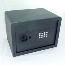 Tresor Safe Möbeltresor mit Zahlencode + Notschlüssel - 21 l - metallicschwarz