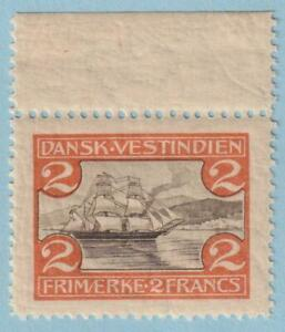 DANISH WEST INDIES 38  MINT NEVER HINGED OG ** NO FAULTS EXTRA FINE!
