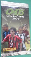 Bustina Cards CALCIO CARDS 2005 Packet Tüten Pochette
