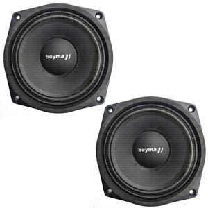 """Pair of Beyma PRO6WND 6.5"""" Neodymium 150-Watt Neo Speakers 4-ohm Pro-6W/Nd"""