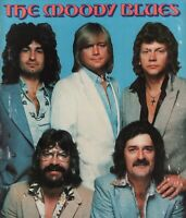 MOODY BLUES 1978 OCTAVE TOUR CONCERT PROGRAM BOOK / JUSTIN HAYWARD / VG 2 NMT