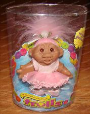 The Original Good Luck Trolls, Ballerina (by D.A.M, 63800) Pink (2006)