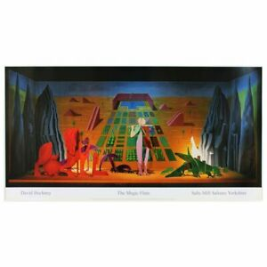 David Hockney Original Lithograph The Magic Flute Poster